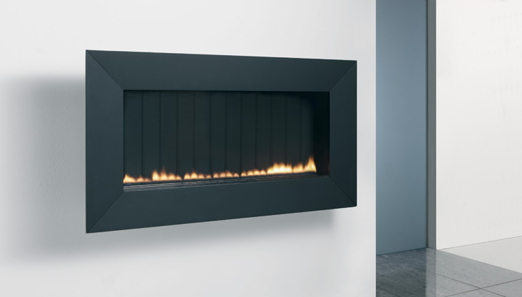The Athos Wall Mounted Flueless Gas Fire