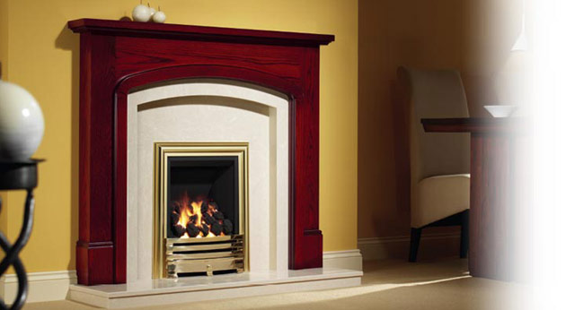 Belvedere Timber Fireplace