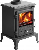 THE FIREFOX 5 GAS BURNING, CAST IRON STOVE