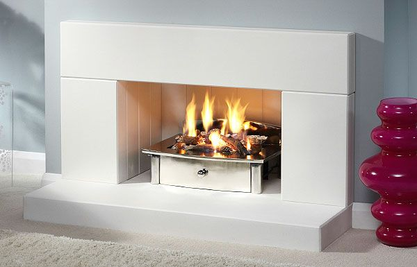 The LS 26 Agean Limestone low suite FirePlacePriceMatchcouk