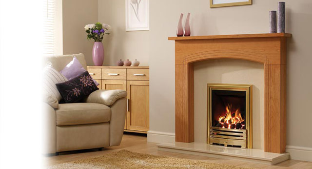 Arden Timber Fireplace