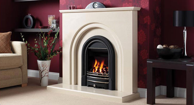 Clarissa Marble Fireplace