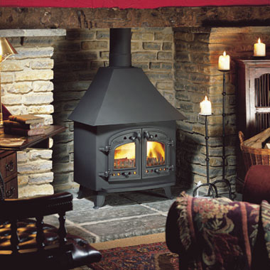 """A""  Wood Burning Stove"